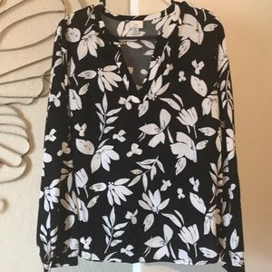 A New Day long sleeved blouse